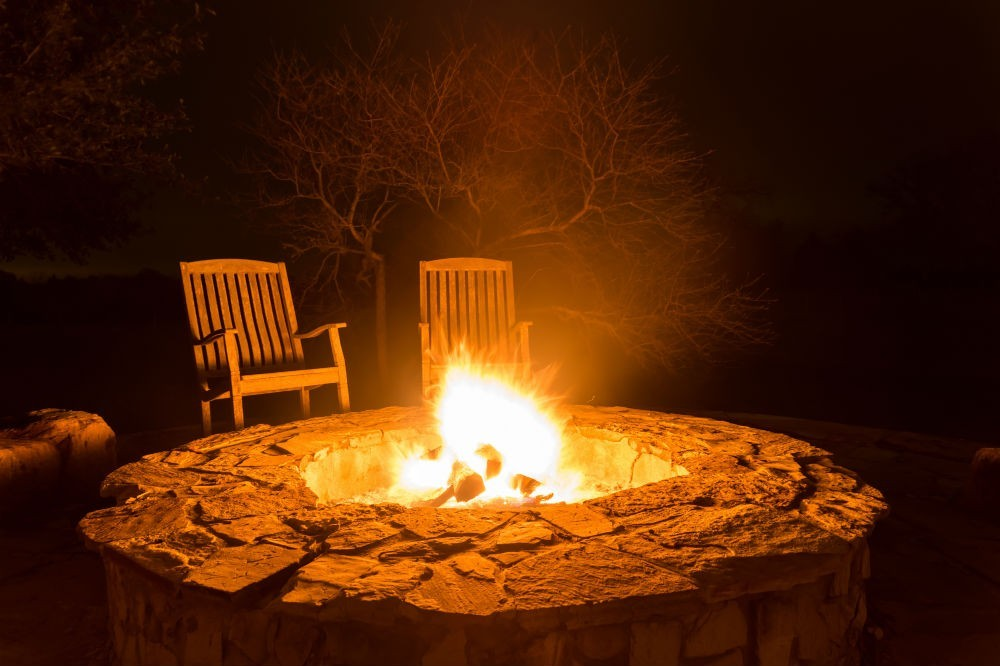 how hot do fire pits get