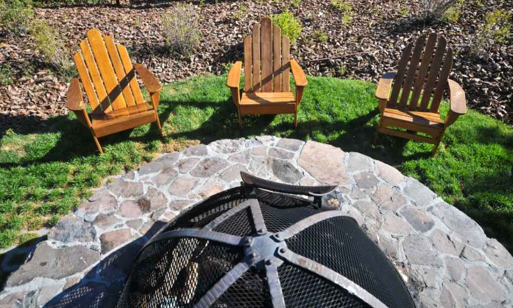 Wood Burning Fire Pit for Timber Decking