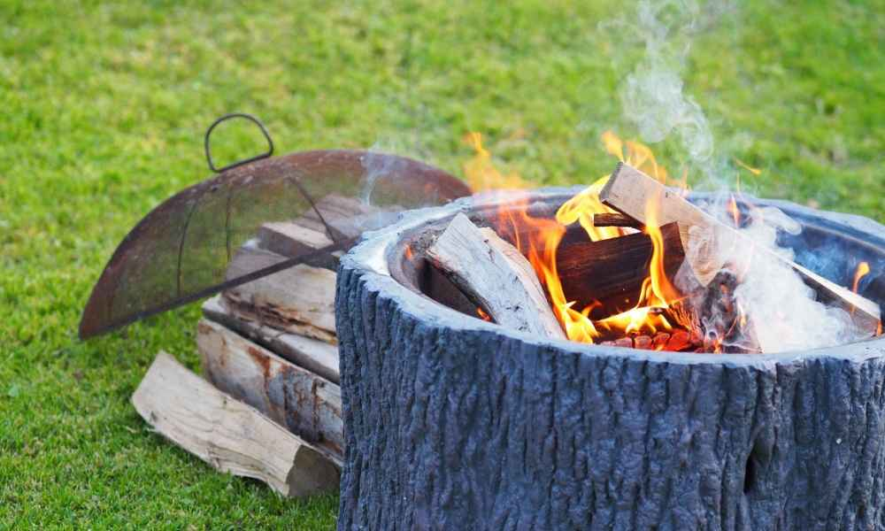 Heat Shield For Fire Pit On Deck What To Use In Fire Pit Where To Put A Fire Pit